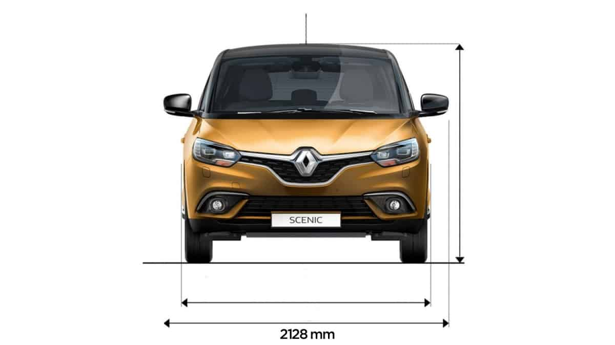 renault scenic dimension